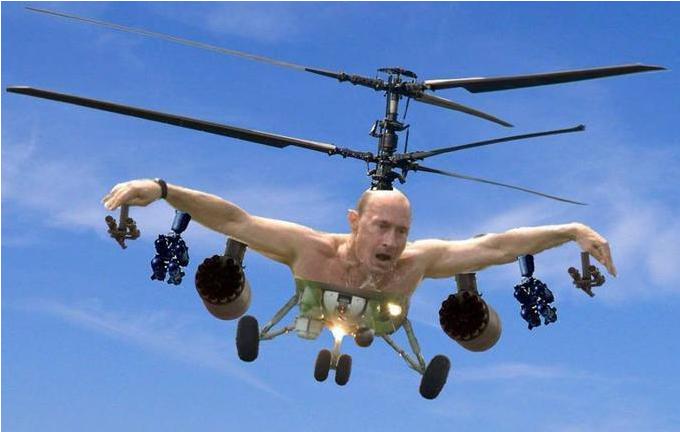 Mème Poutine hélico