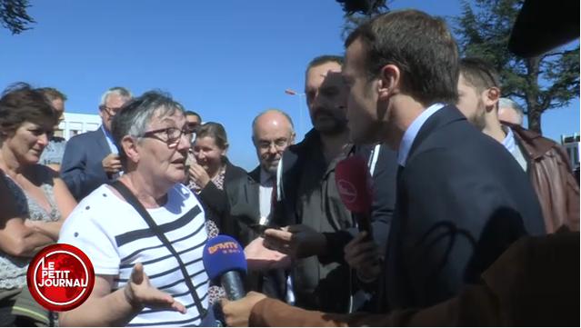 Macron fonctionnaire