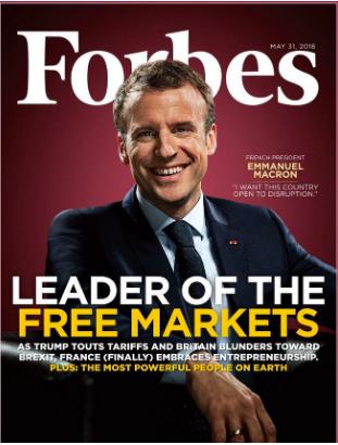 Macron Forbes