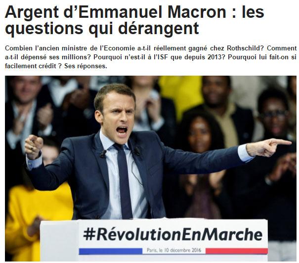 Macron JDD