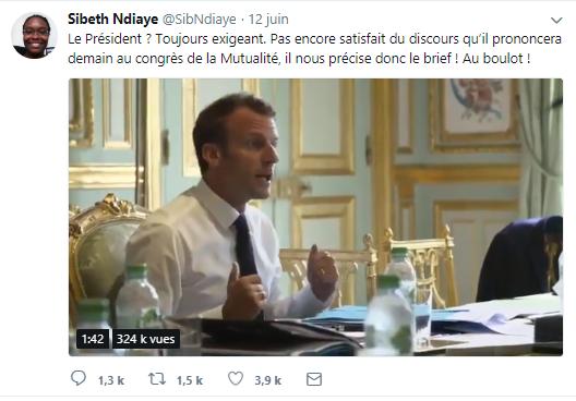 Macron pognon