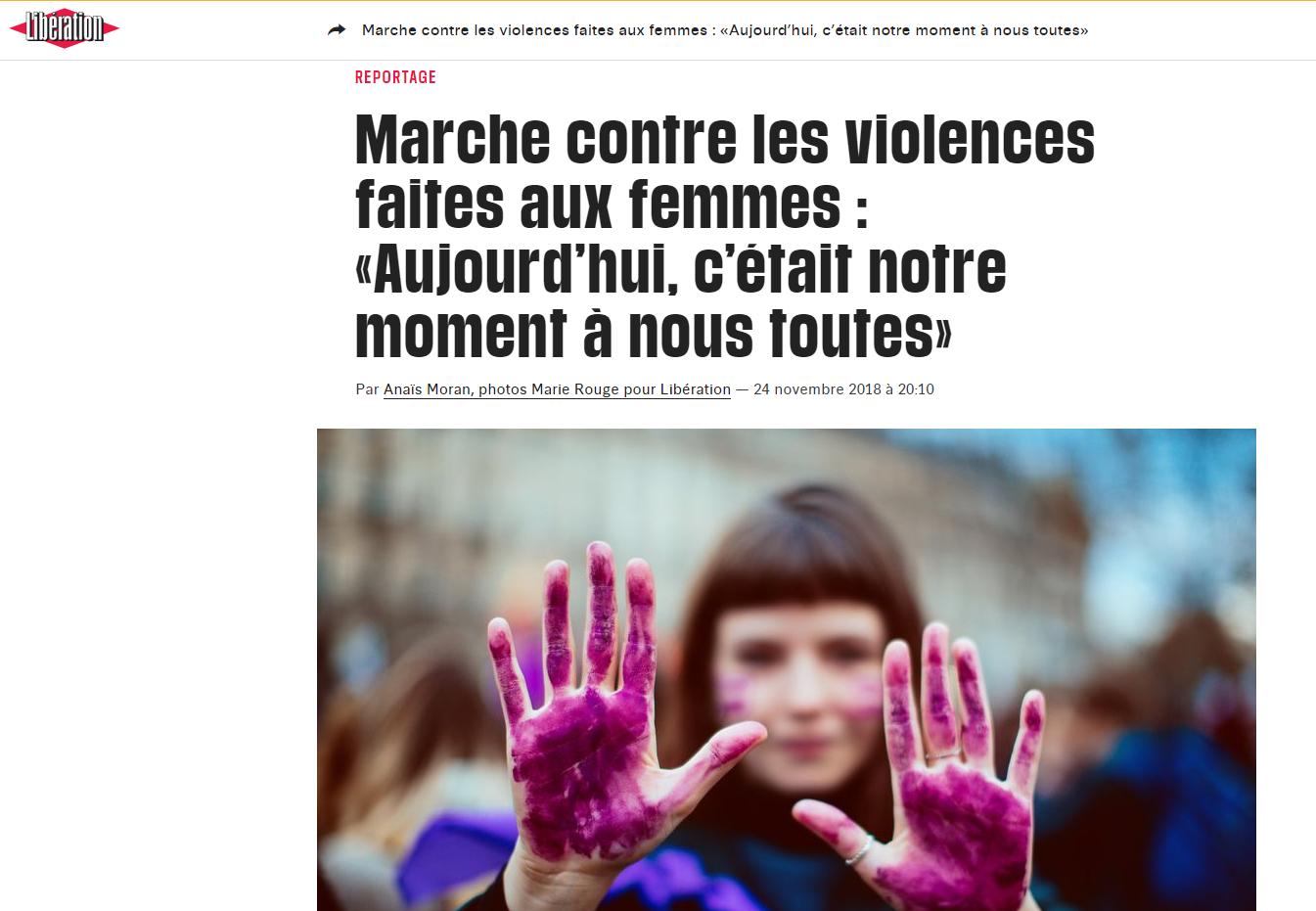 Marchye des femmes
