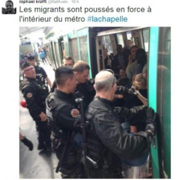 migrant métro