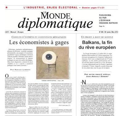 Monde Diplomatique - 01/03/2012