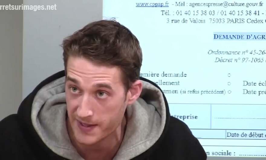 Gaspard Glanz Taranis News Va Demander La Carte De Presse Par Manuel Vicuna Arret Sur Images