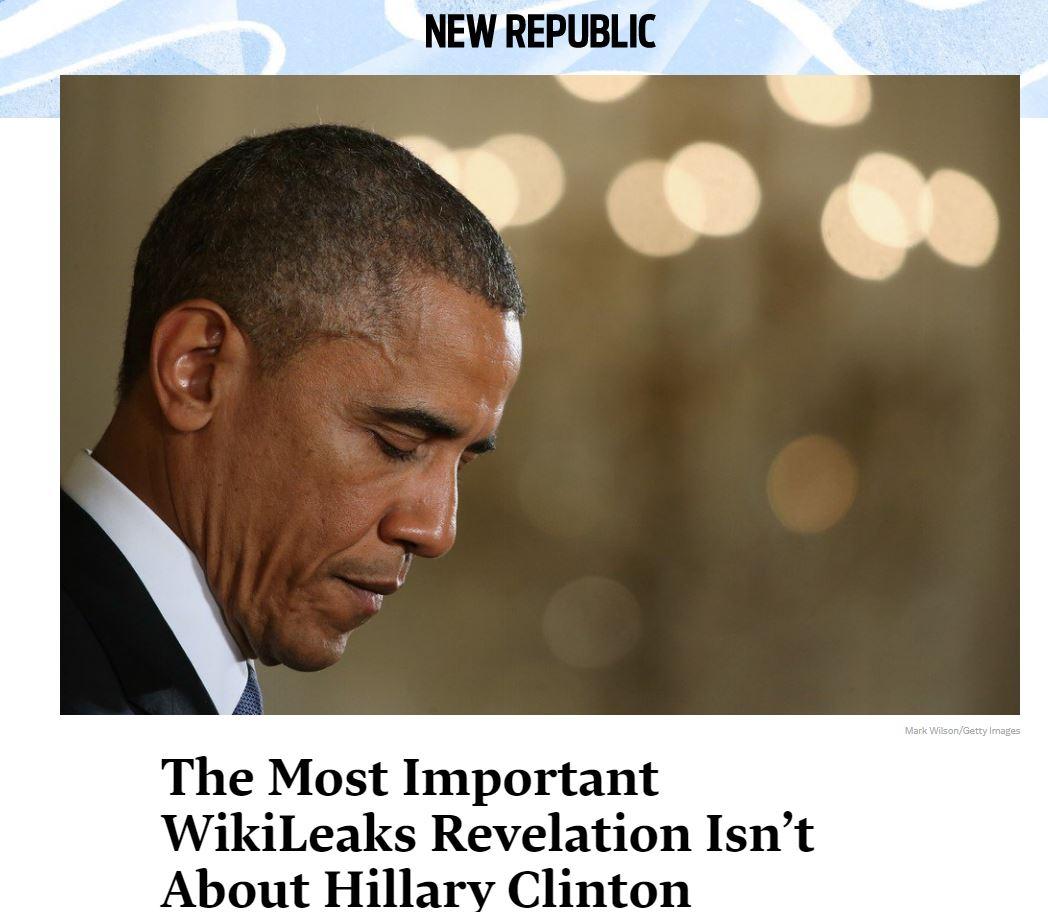 New Republic Clinton Obama
