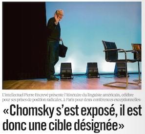 Noam chomsky - Libération -31/05/10