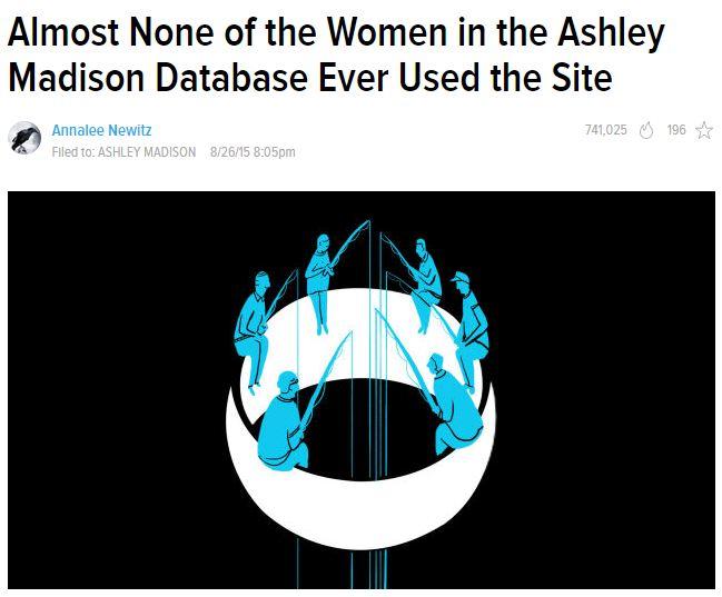 extraconjugale site de rencontre Ashley Madison fausses photos de profil de rencontre