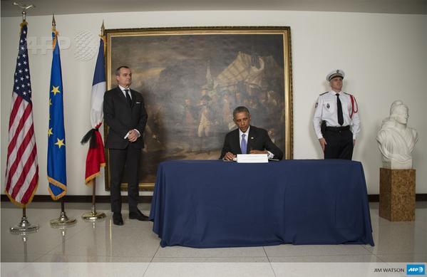 Obama condoléances
