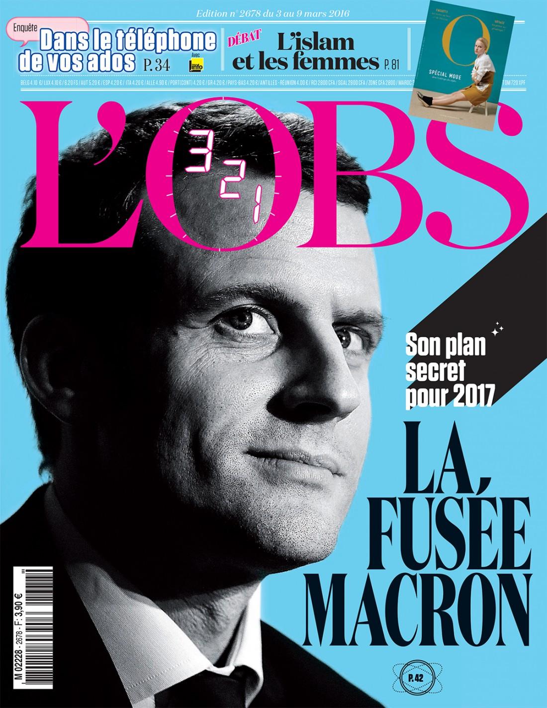 Obs fusée Macron
