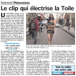 Parisien, clip