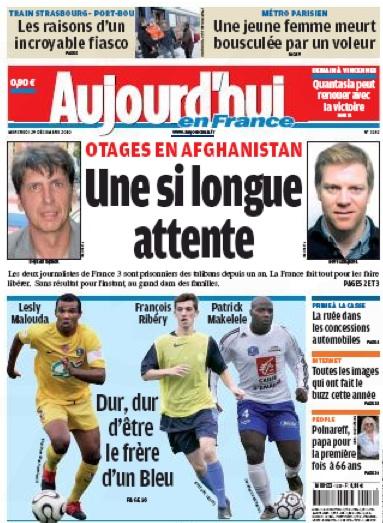 Parisien, otages