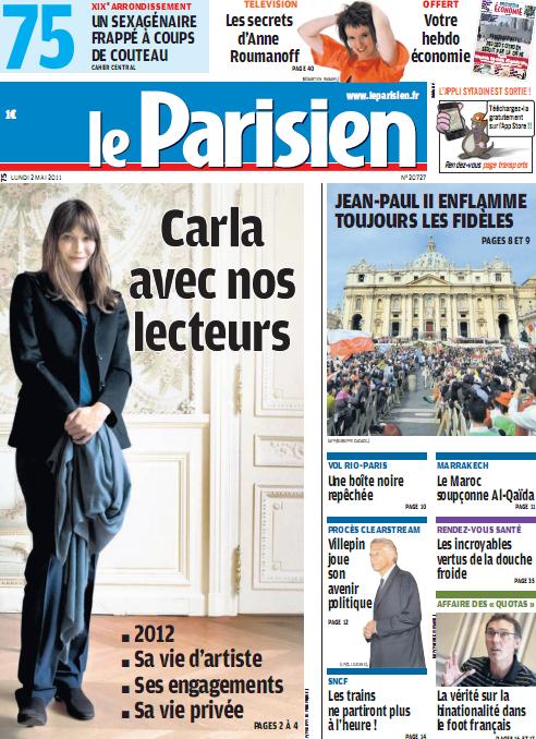 parisien une 2 mai