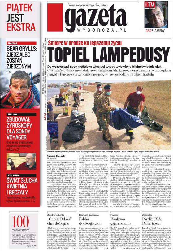 Pologne Lampedusa