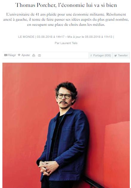 Portrait du Monde - 3 août 2018