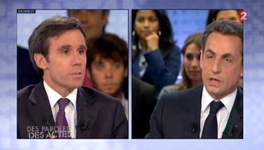 Pujadas et Sarkozy