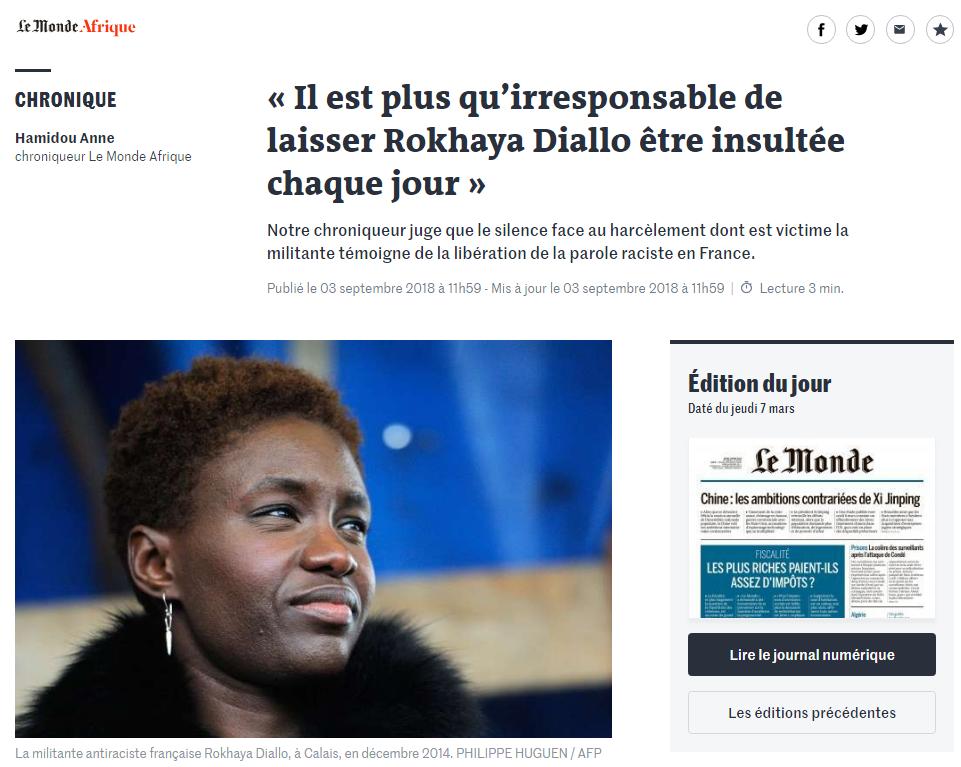 Rokhaya Le Monde Afrique