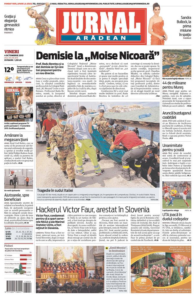 Roumanie Lampedusa