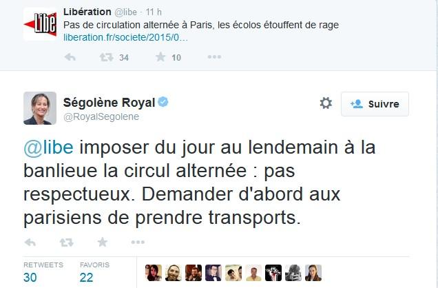 Royal pollution
