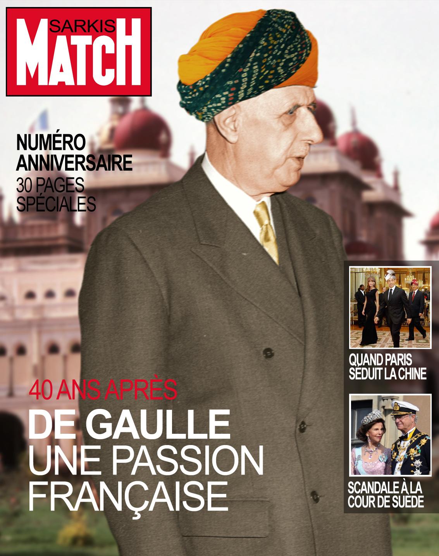 Saekozistan de Gaulle