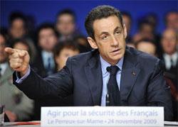 Sarkozy au Perreux