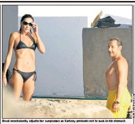 Sarkozy, Daily Telegraph