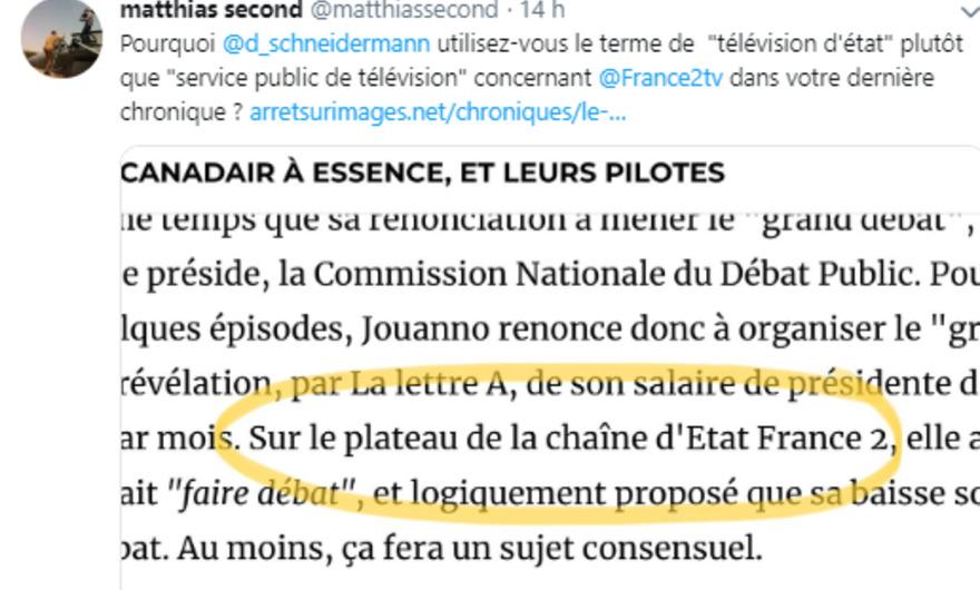 d6b32b386028c3 Ce qu est une télévision d Etat   réponse à un journaliste de France ...