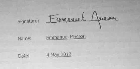 Signature Macron 4chan
