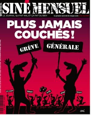 Siné mensuel grève générale