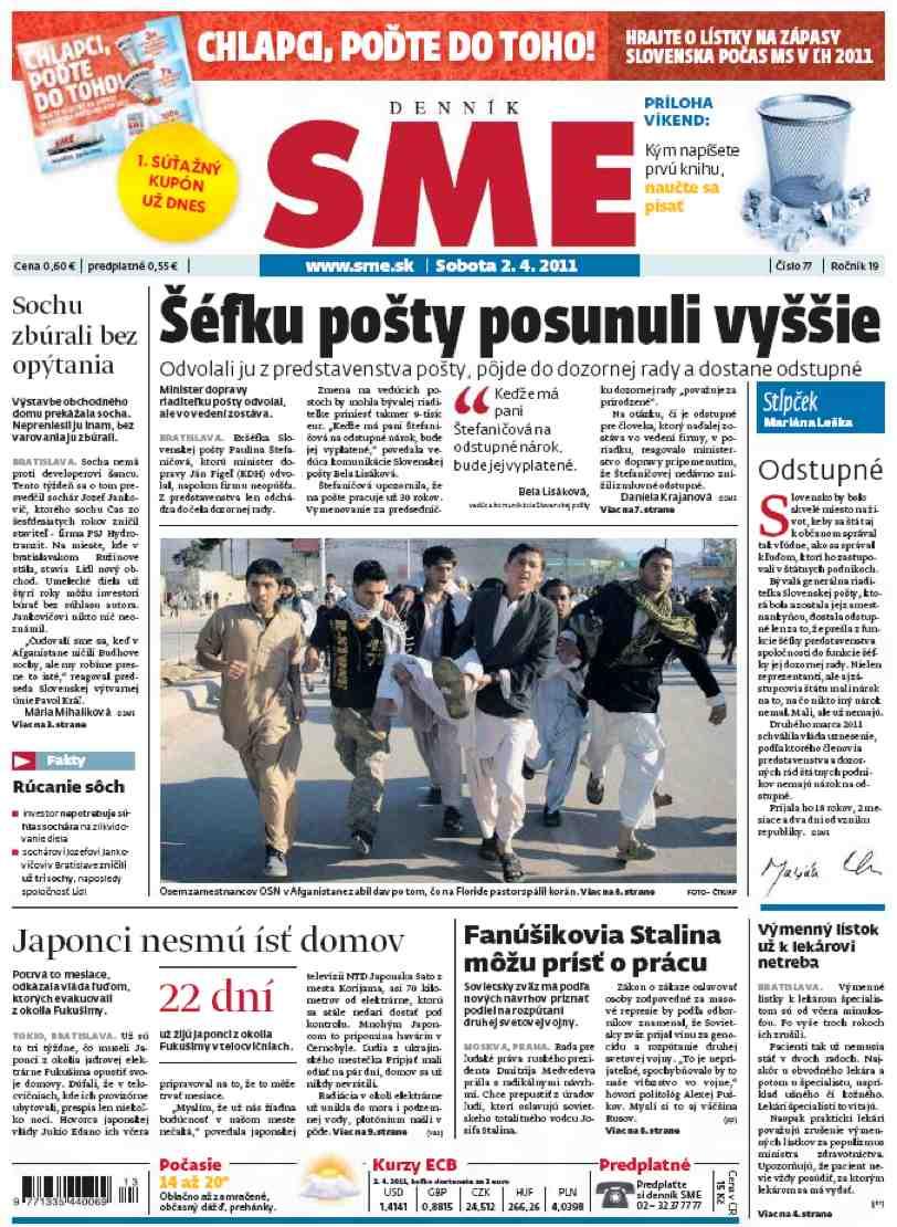 SME,  Slovaquie