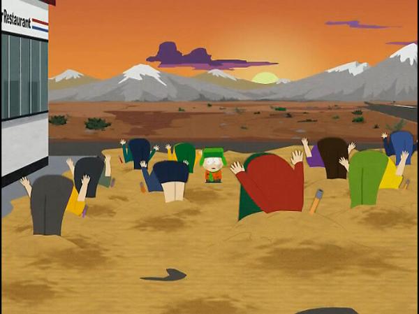 South Park porno comique