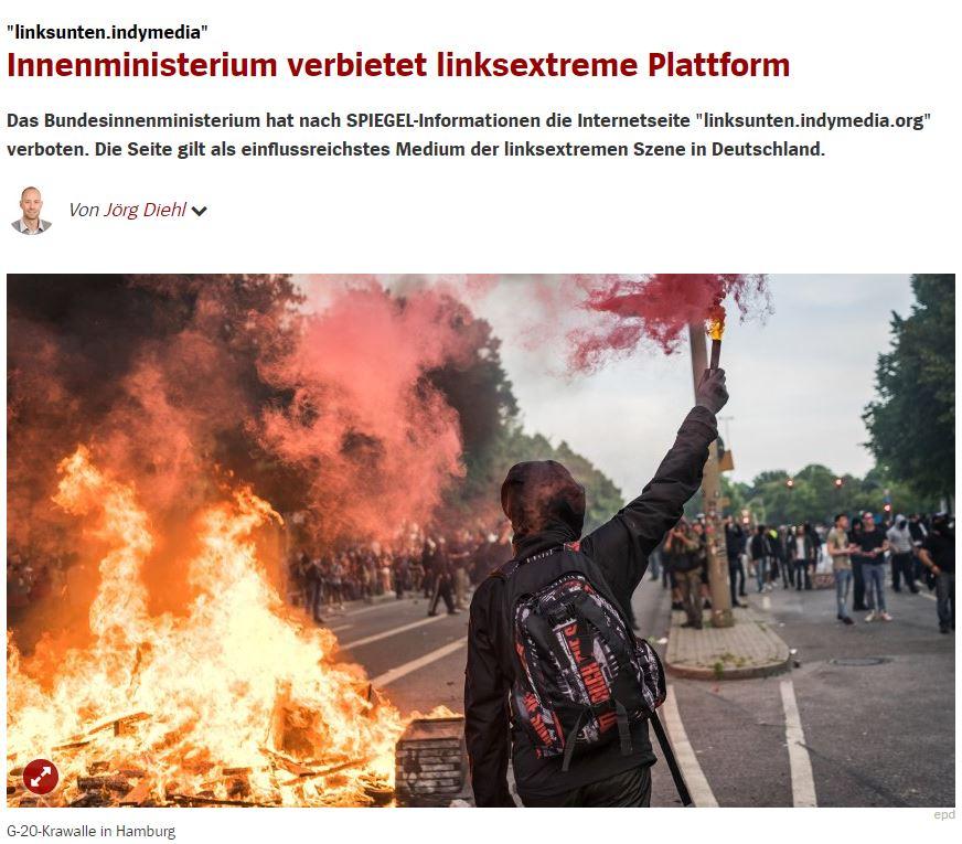 Spiegel Indymedia