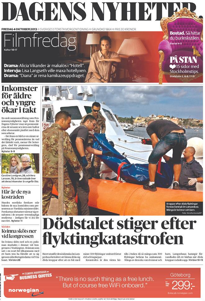 Suède Lampedusa
