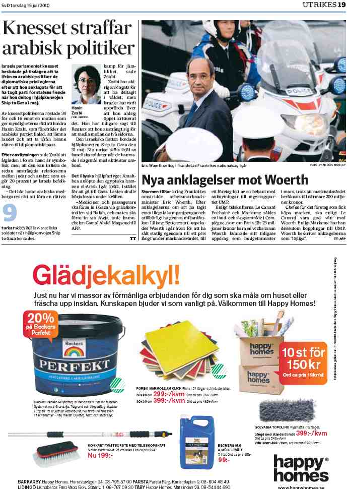 Svenska Dagbladet, Sue%u0300de