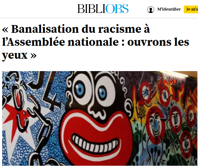 Tableau raciste
