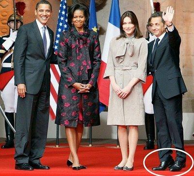 talonnettes Sarkozy