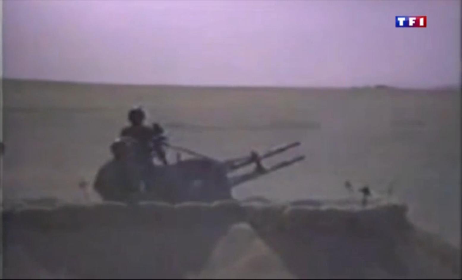 TF1 - canon antiaérien corée du nord