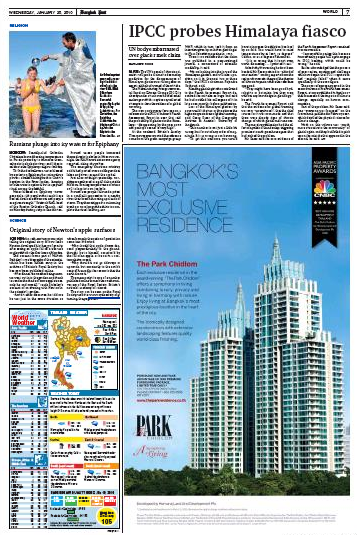 Thailande, Bangkok Post