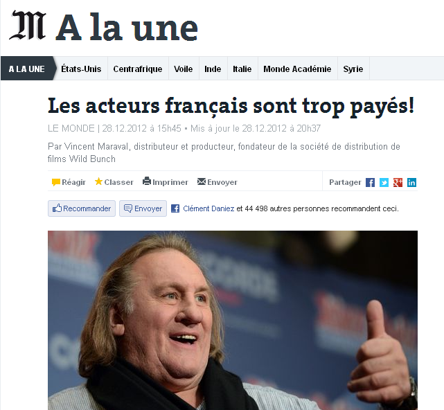 tribune Monde