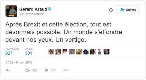 tweet ambassadeur Araud