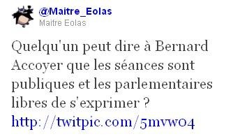 Tweet Maître Eolas