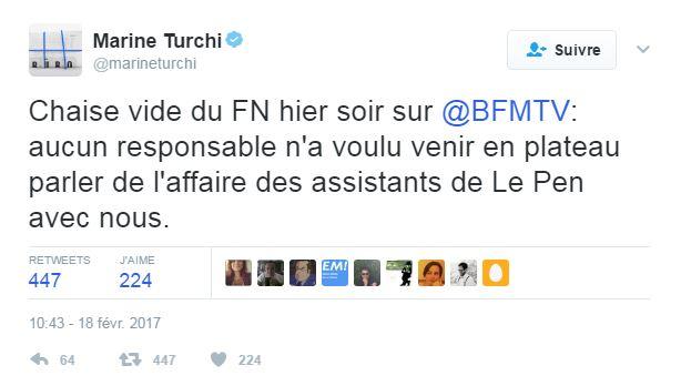 Tweet Turchi FN
