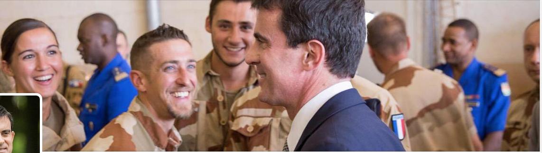 Valls photo Twitter
