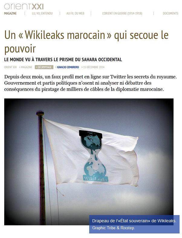 Wikileaks marocain