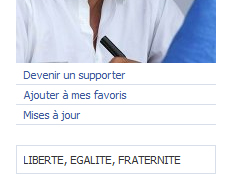 Zoom Devenir supporter de Sarkozy